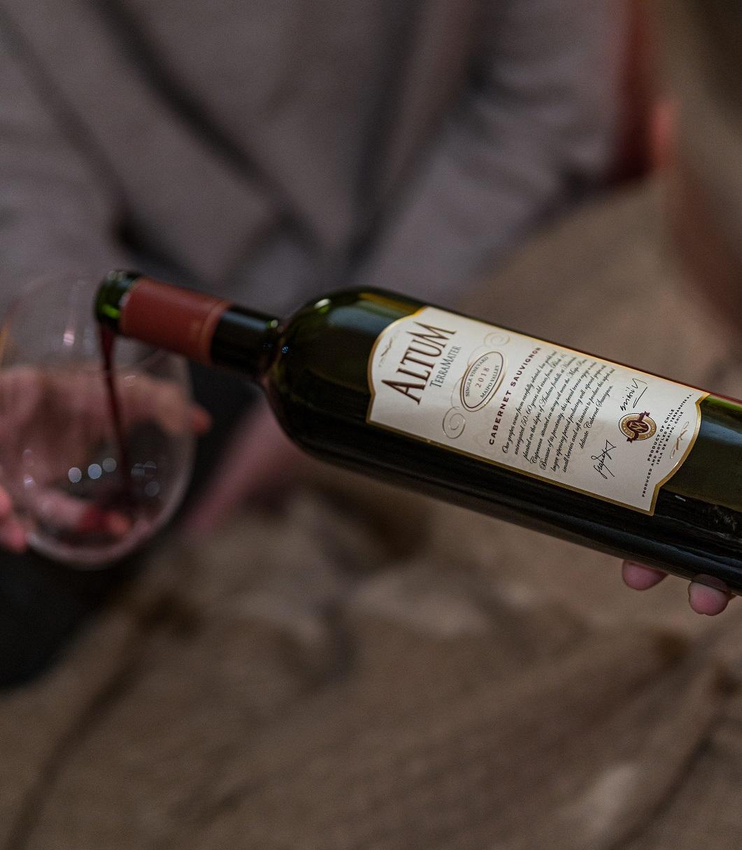 Ideal para brindar: Altum Cabernet Sauvignon de Viña Terramater