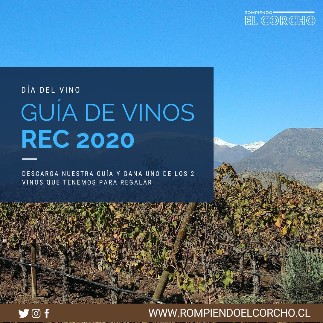Día del vino chileno: Guía de Vinos REC 2020 –  Ganadores sorteo