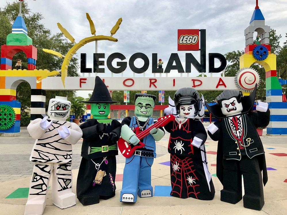 Diversión Espantosa y Segura llega a Legoland Florida Resort