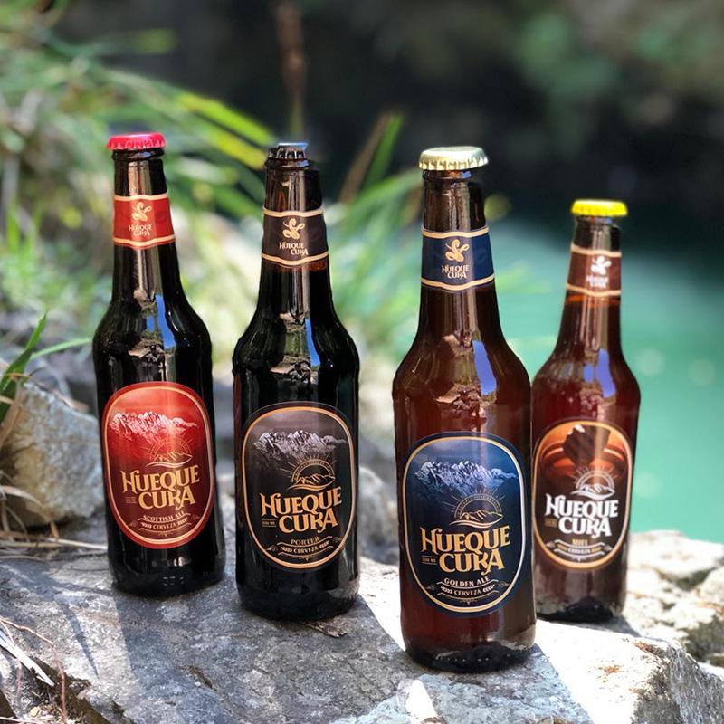 Cerveza Huequecura: la cordillera del Bío-Bío en una botella