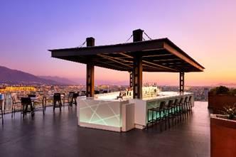 Luna Bar la terraza de AC Santiago ya está abierta