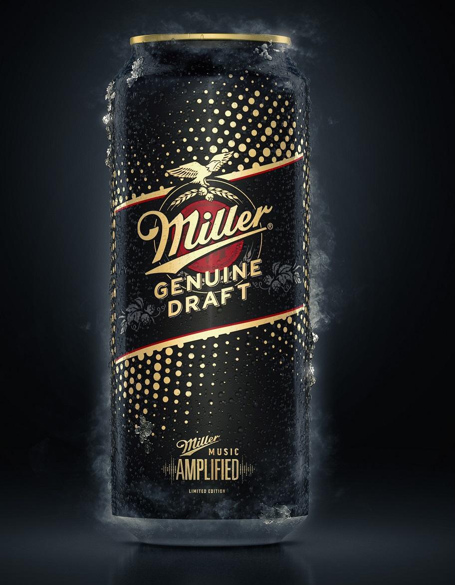 Miller presenta nueva lata para celebrar el Music Amplified