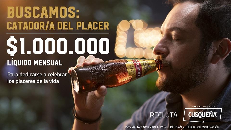 ¿Trabajar catando cervezas y ganar 1M?