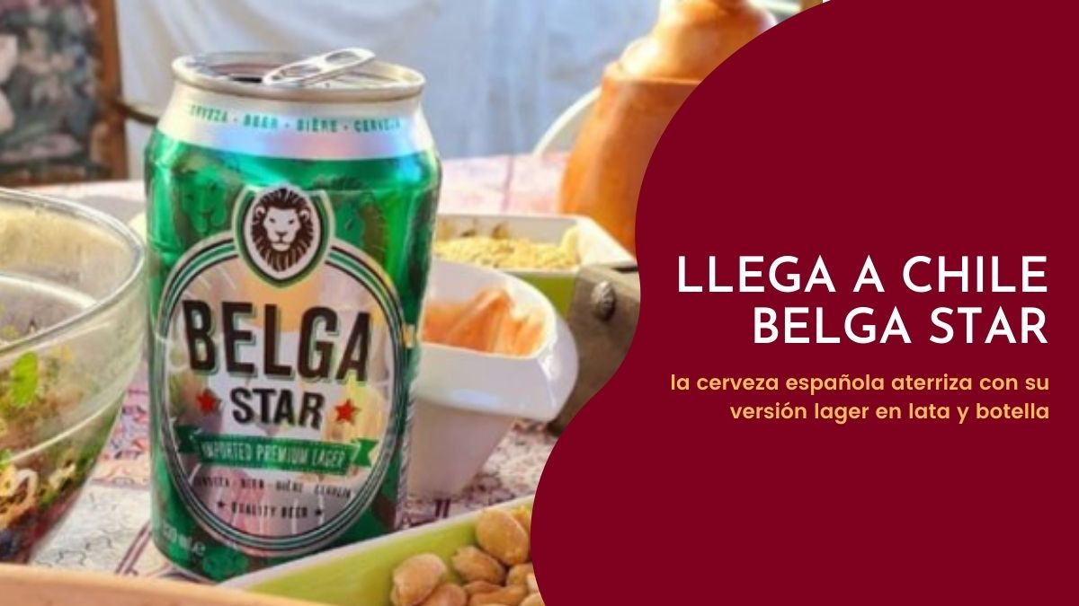 Parte por la Lager: Belga Star llega a Chile