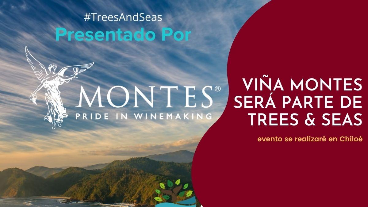 Viña Montes será parte de Trees & Seas
