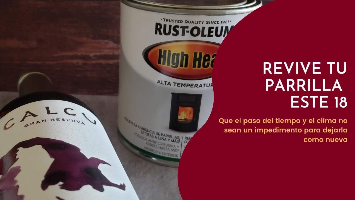 Concurso: Revive tu parrilla con High Heat de Rust-Oleum